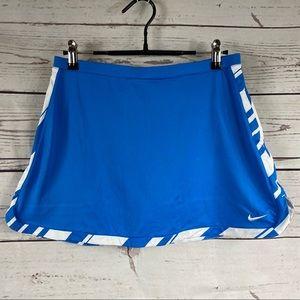 Nike blue skort short skirt Sz XL Youth